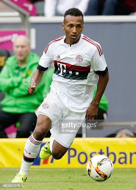 Julian Green of FC Bayern Munchen during the Telekom Cup friendly match between Borussia Monchengladbach and Bayern Munich on July 12 2015 at the...