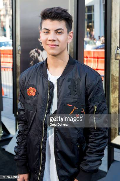 Julian Jara arrives for the Premiere Of New Line Cinema's 'Annabelle Creation' at the TCL Chinese Theatre on August 7 2017 in Hollywood California