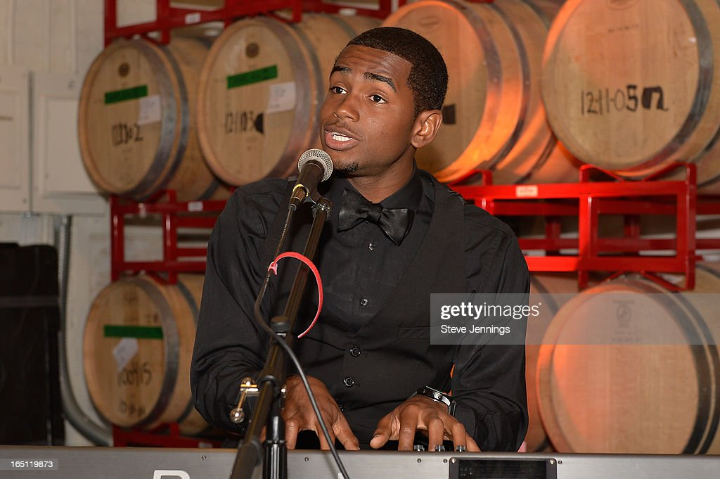 Julian Keyz Thomas performs at the 6th Annual 'Where Hip Hop Meets Couture' Fashion Show at Dog Patch Wine Works on March 30, 2013 in San Francisco, California.