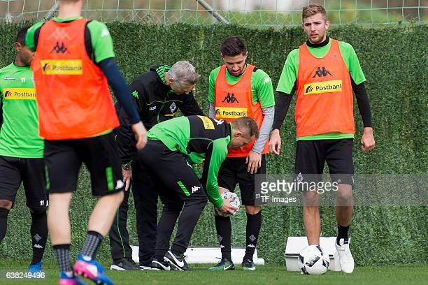 Julian Korb of Borussia Moenchengladbach during a Training Session at Borussia Moenchengladbach Training Camp on January 07 2017 in Marbella Spain