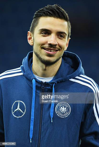 Julian Korb of Germany looks on during a U21 International friendly match between U21 Germany and U21 Italy on March 27 2015 in Paderborn Germany