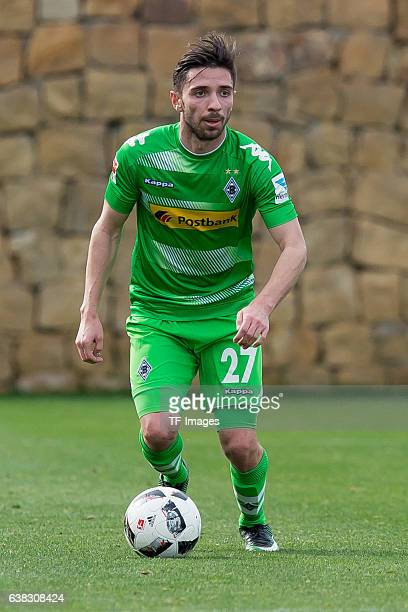 Julian Korb of Moenchengladbach in action during the friendly match between Borussia Moenchengladbach v Wuerzburger Kicker Friendly Match at Marbella...