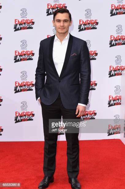 Julian Kostov attends the THREE Empire awards at The Roundhouse on March 19 2017 in London England
