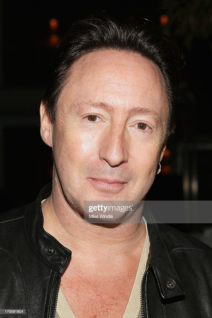 <a gi-track='captionPersonalityLinkClicked' href=/galleries/search?phrase=Julian+Lennon&family=editorial&specificpeople=211480 ng-click='$event.stopPropagation()'>Julian Lennon</a> attends the <a gi-track='captionPersonalityLinkClicked' href=/galleries/search?phrase=Julian+Lennon&family=editorial&specificpeople=211480 ng-click='$event.stopPropagation()'>Julian Lennon</a> 'Everything Changes' CD release party at Sunset Marquis Morrison Hotel Gallery on June 14, 2013 in West Hollywood, California.