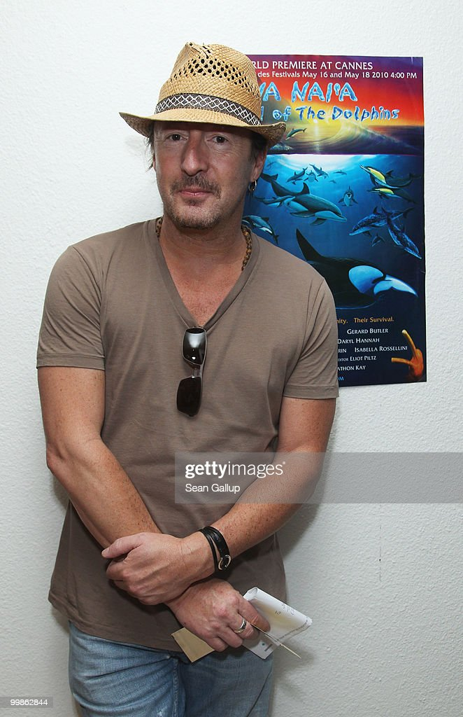 <a gi-track='captionPersonalityLinkClicked' href=/galleries/search?phrase=Julian+Lennon&family=editorial&specificpeople=211480 ng-click='$event.stopPropagation()'>Julian Lennon</a> attends the 'Na Nai'a Legend of the Dolphins' Photocall at Palais des Festivals during the 63rd Annual Cannes Film Festival on May 18, 2010 in Cannes, France.