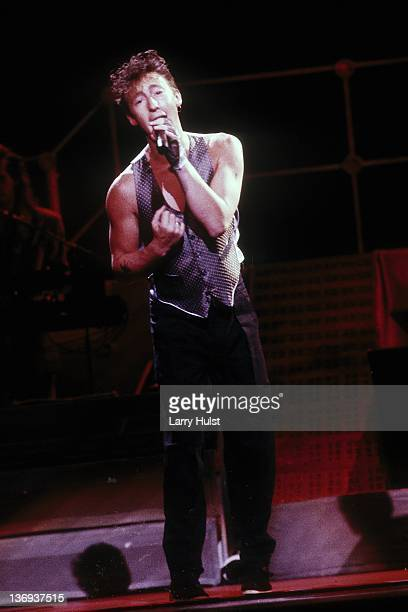 Julian Lennon performing at the Community Center in Sacramento California on April 5 1985