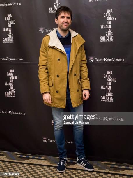 Julian Lopez attends 'Una Gata Sobre Un Tejado de Zinc Caliente' Madrid Premiere on March 23 2017 in Madrid Spain