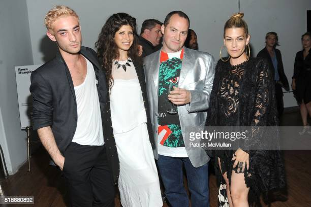 Julian Louie Pamela Love Ryan Humphrey and Jenne Lombardo attend 2010 WHITNEY ART PARTY Presented by BCBGMAXAZRIA at 82Mercer on June 9 2010 in New...