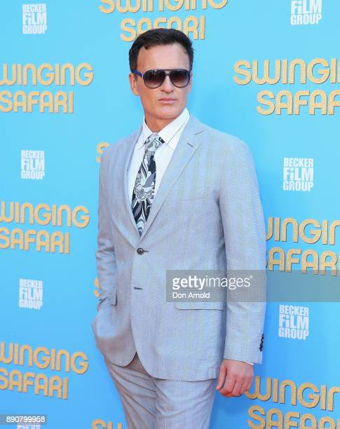 Julian McMahon attends the world premiere of Swinging Safari on December 12 2017 in Sydney Australia
