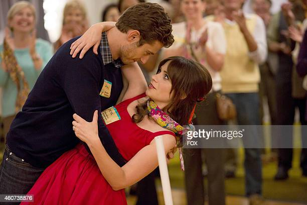 Julian Morris and Zooey Deschanel in the 'Teachers' episode of NEW GIRL airing Tuesday Nov 18 2014 on FOX