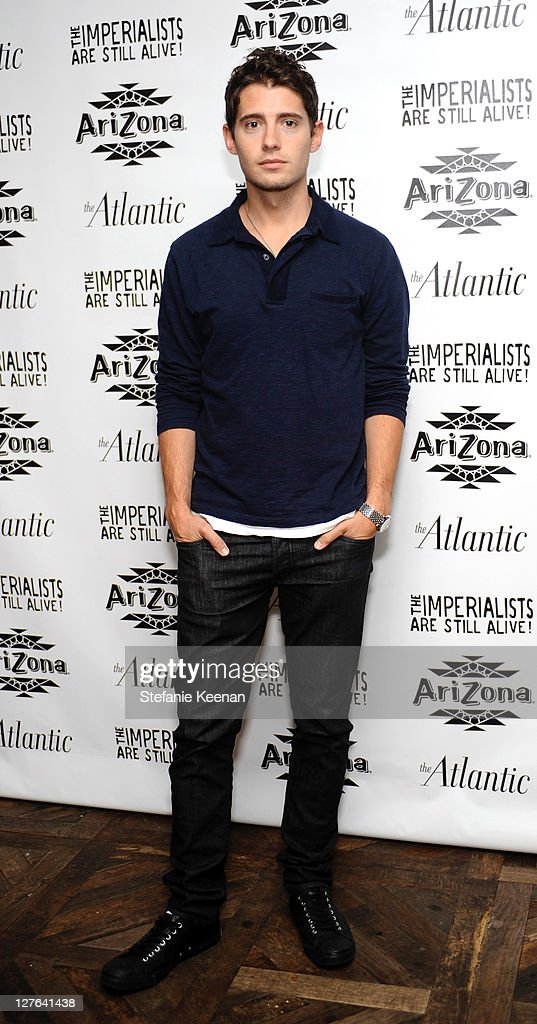 Julian Morris attends The Atlantic Magazine And AriZona Beverages Los Angeles Premiere Of 'The Imperialists Are Still Alive!' at Soho House on April 19, 2011 in West Hollywood, California.