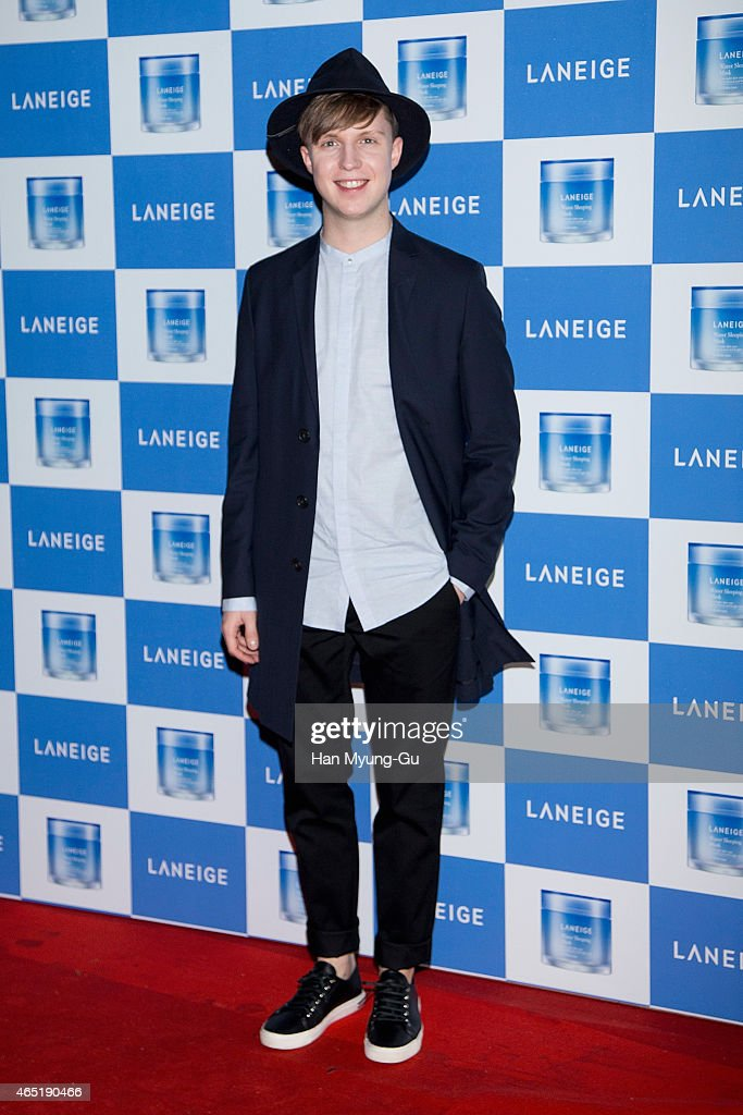 Julian Quintart from Belgium attends the Laneige Launch Party at Y1975 on March 3, 2015 in Seoul, South Korea.