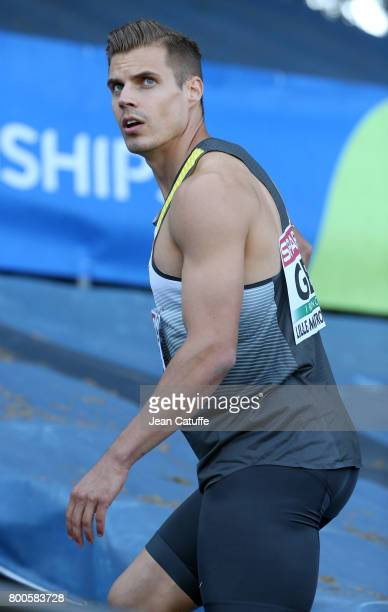 Julian Reus of Germany competes in the 100m during the 2017 European Athletics Team Championships at Stadium Lille Metropole on June 23 2017 in...
