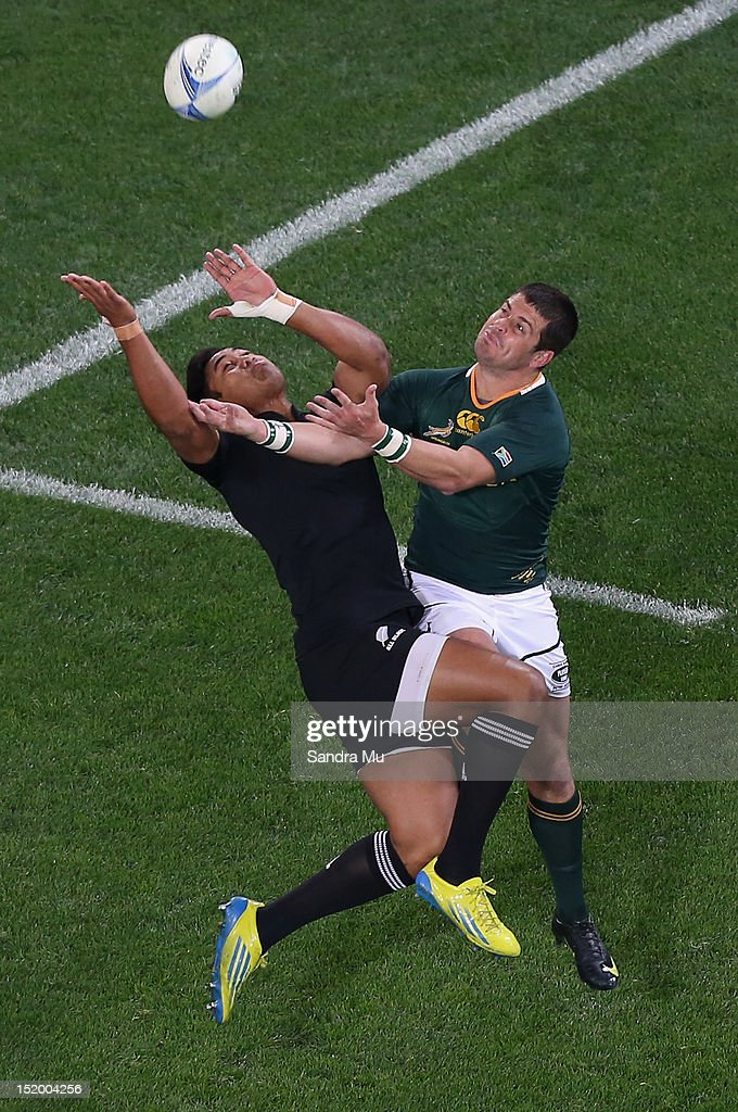New Zealand v South Africa: The Rugby Championship