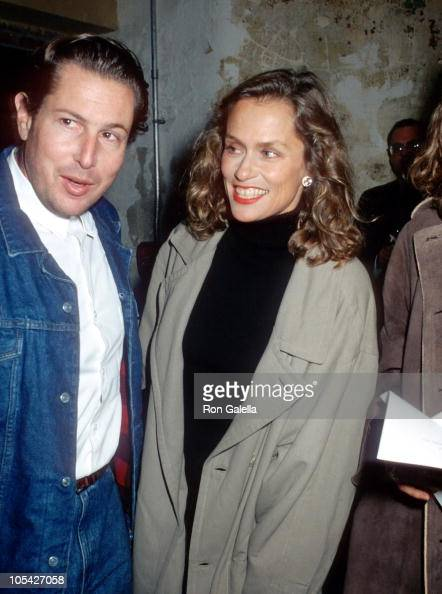 Julian Schnabel and Lauren Hutton during 'Mahabharata' New York City Premiere at Brooklyn Academy of Music in New York City New York United States