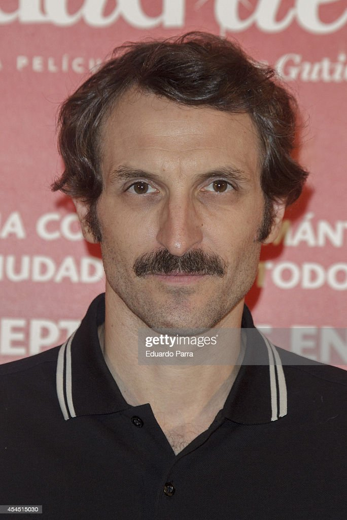 Julian Villagran attends 'Ciudad Delirio' premiere photocall at Academia del cine on September 2, 2014 in Madrid, Spain.