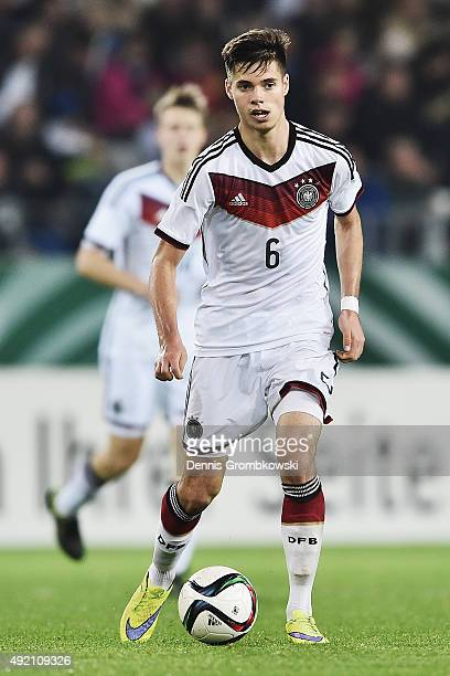 Julian Weigl of Germany controls the ball during the 2017 UEFA European U21 Championships Qualifier between U21 Germany and U21 Finland at Stadium...
