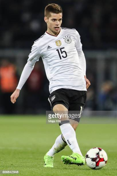 Julian Weigl of Germany controls the ball during the international friendly match between Germany and England at Signal Iduna Park on March 22 2017...
