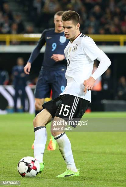 Julian Weigl of Germany in action during the international friendly match between Germany and England at Signal Iduna Park on March 22 2017 in...