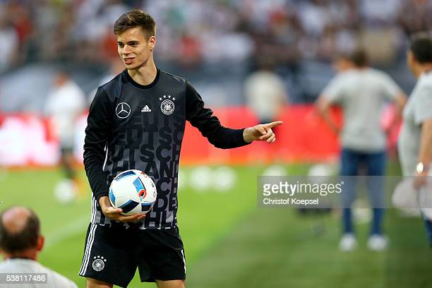 Julian Weigl of Germany is seen after the International Friendly match between Germany and Hungary at VeltinsArena on June 4 2016 in Gelsenkirchen...