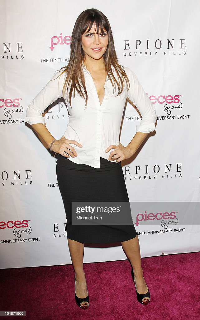 Julian Wells aka Suzy McCoppin arrives at 'Pieces(Of Ass)' opening night Los Angeles performance held at The Fonda Theatre on March 28, 2013 in Los Angeles, California.