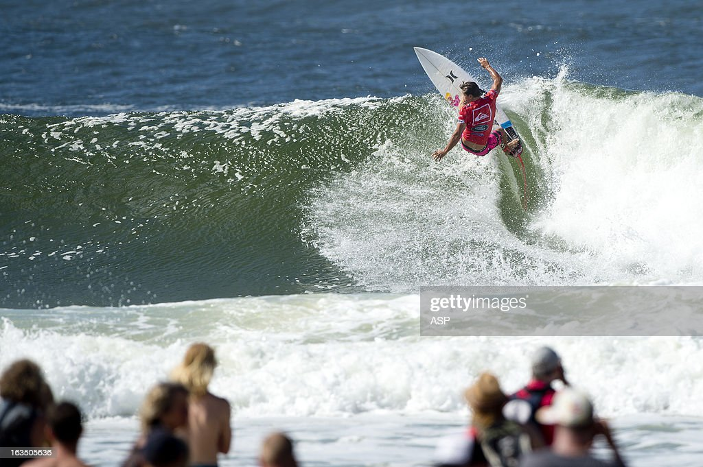 Julian Wilson of Australia in action during the Quiksilver Pro on March 11, 2013 in Gold Coast, Australia.