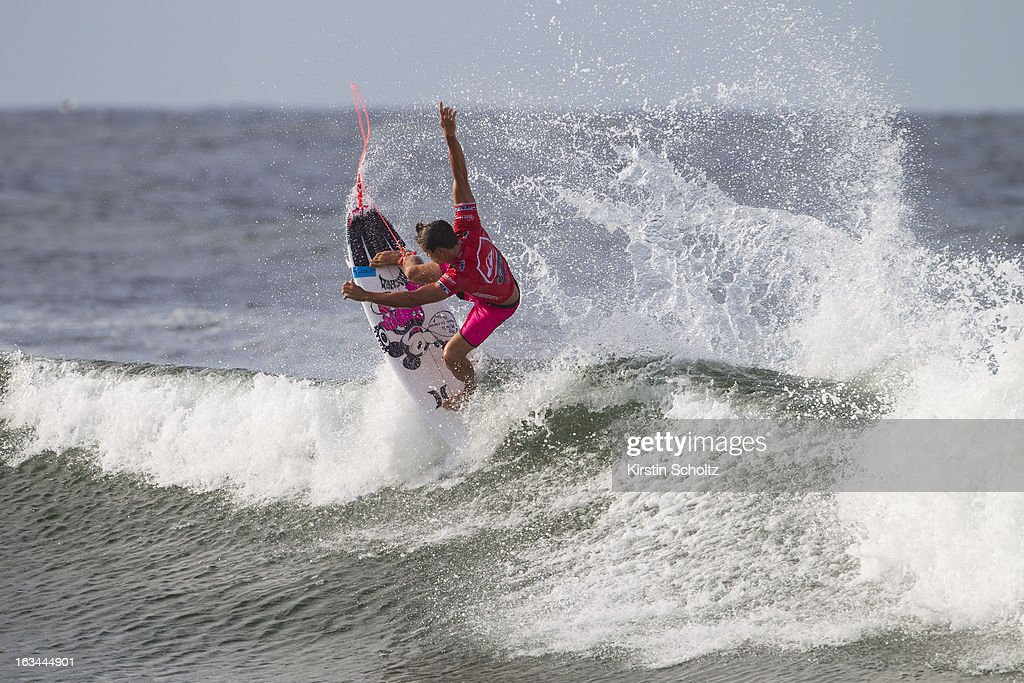 Julian Wilson of Australia surfs during round three during the Quiksilver Pro on March 10, 2013 in Gold Coast, Australia.