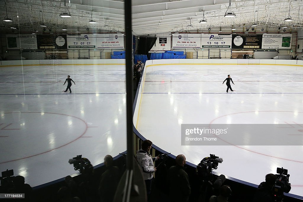 Julian Zhi Jie Yee of Malaysia competes in the Senior Mens Free Program during Skate Down Under at Canterbury Olympic Ice Rink on August 22, 2013 in Sydney, Australia.