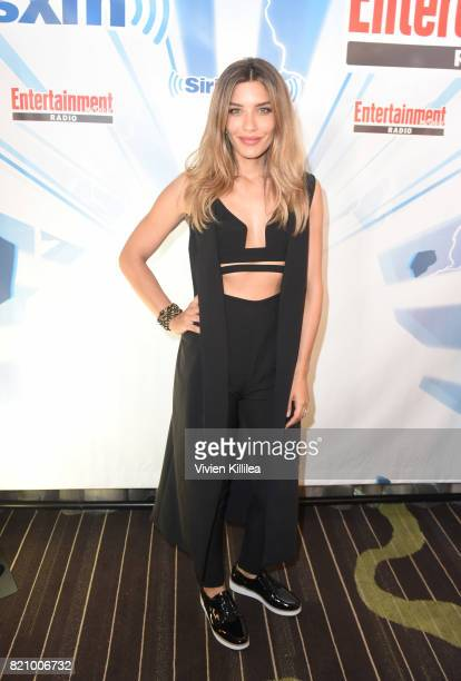 Juliana Harkavy attends SiriusXM's Entertainment Weekly Radio Channel Broadcasts From Comic Con 2017 at Hard Rock Hotel San Diego on July 22 2017 in...