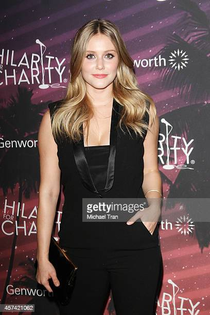 Julianna Guill arrives at the Hilarity For Charity's 3rd Annual Los Angeles HFC Variety Show held at Hollywood Palladium on October 17 2014 in...
