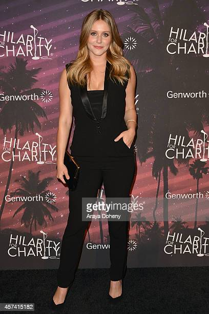 Julianna Guill attends the 3rd Annual Hilarity for Charity Variety Show to benefit the Alzheimer's Association presented by Genworth at Hollywood...