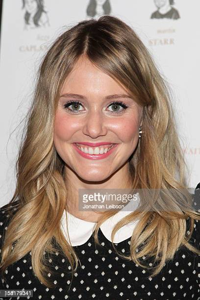 Julianna Guill attends the 'Save the Date' screening hosted by Genart and Brancott Estate Wines held at Sundance Cinema on December 10 2012 in Los...