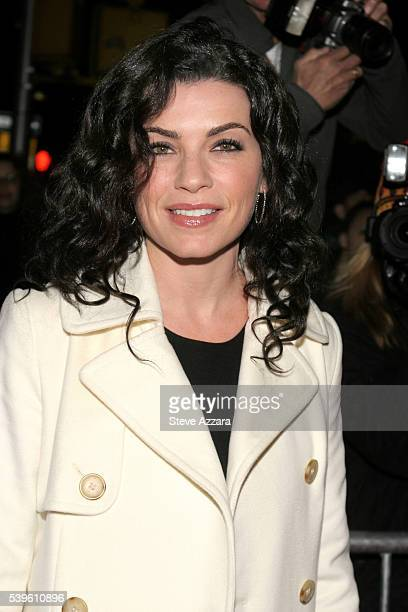 Julianna Marguiles arrives for the New York Premiere of 'Pride Prejudice' to benefit Literacy PartnersInc at Loews Lincoln Square in New York City
