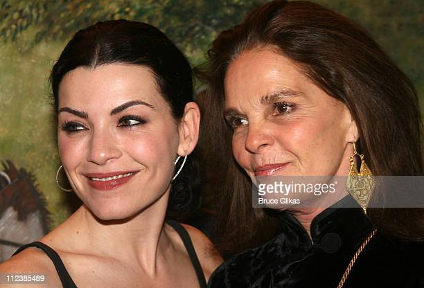 Julianna Margulies and Ali MacGraw during 'Festen' Broadway Opening Night After Party at Opening Night Curtain Call and Party for 'Festen' on...