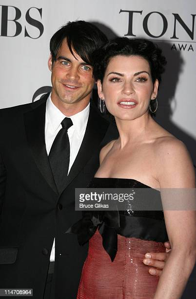 Julianna Margulies and guest during 60th Annual Tony Awards Arrivals at Radio City Music Hall in New York City New York United States