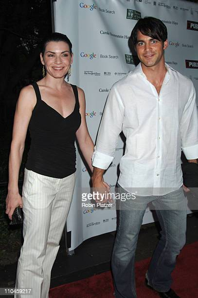 Julianna Margulies and guest during The Public Theatres Summer Gala Honoring Meryl Streep and Kevin Kline and Opening Night of MacBeth at Central...