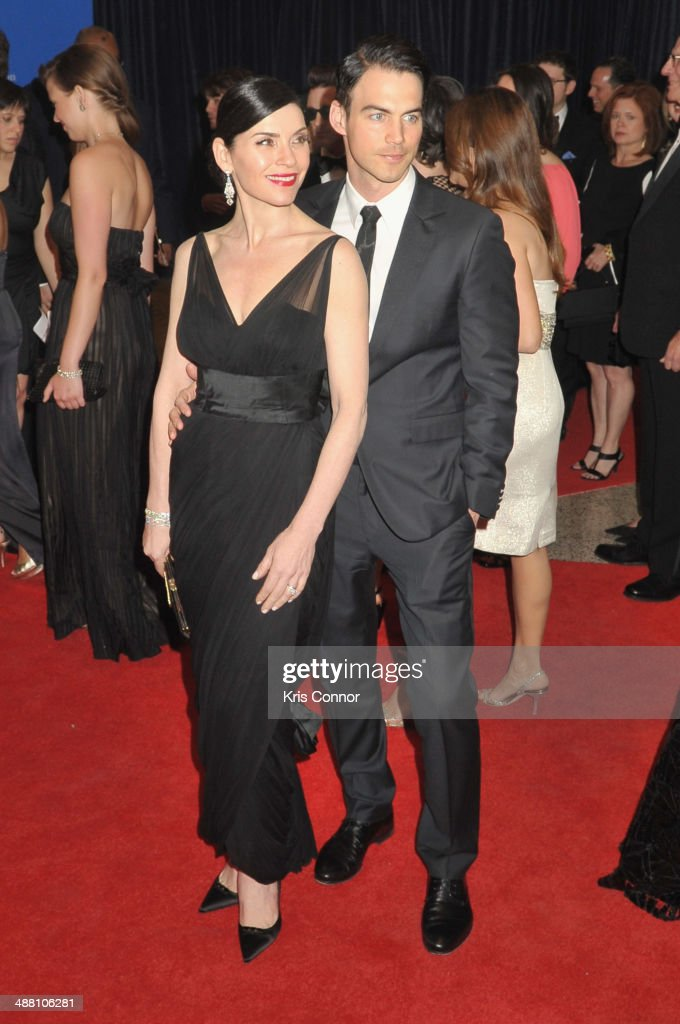 <a gi-track='captionPersonalityLinkClicked' href=/galleries/search?phrase=Julianna+Margulies&family=editorial&specificpeople=208994 ng-click='$event.stopPropagation()'>Julianna Margulies</a> (L) and <a gi-track='captionPersonalityLinkClicked' href=/galleries/search?phrase=Keith+Lieberthal&family=editorial&specificpeople=4571262 ng-click='$event.stopPropagation()'>Keith Lieberthal</a> attend the 100th Annual White House Correspondents' Association Dinner at the Washington Hilton on May 3, 2014 in Washington, DC.