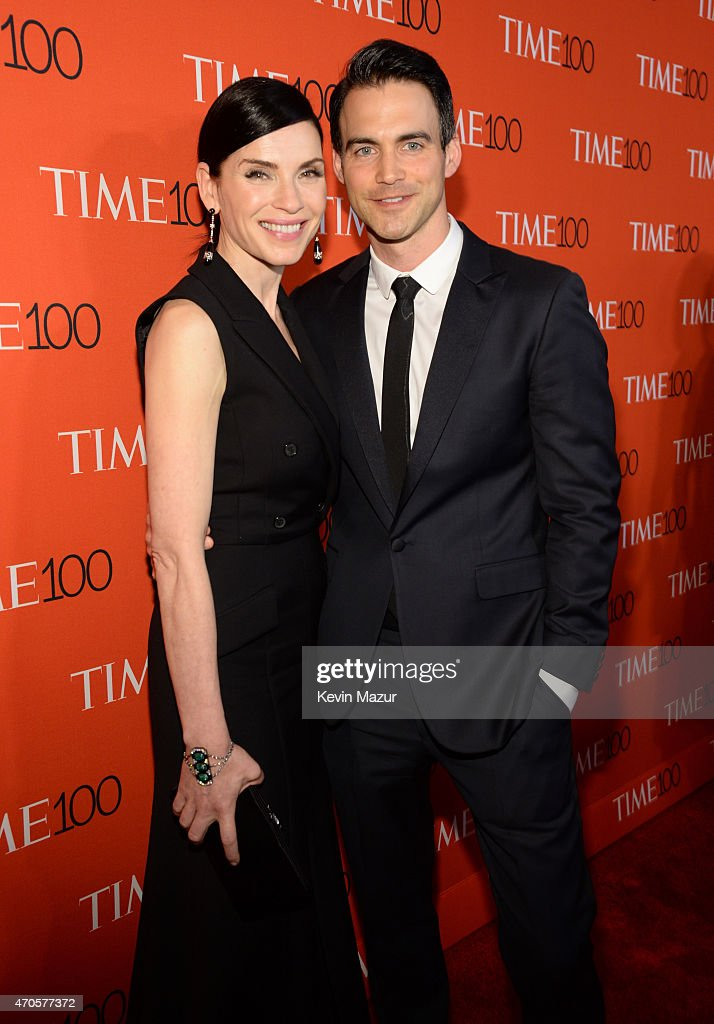 Julianna Margulies and Keith Lieberthal attend TIME 100 Gala, TIME's 100 Most Influential People In The World at Jazz at Lincoln Center on April 21, 2015 in New York City.