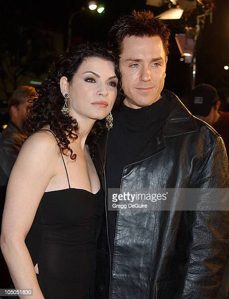 Julianna Margulies and Ron Eldard during 'Ghost Ship' Los Angeles Premiere at Mann Village Theatre in Westwood California United States