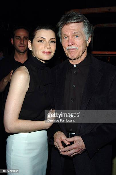 Julianna Margulies and Tom Skerritt 3837_034 during TBS/TNT Upfront Rehearsals April 22 2004 at Armory in New York City New York United States