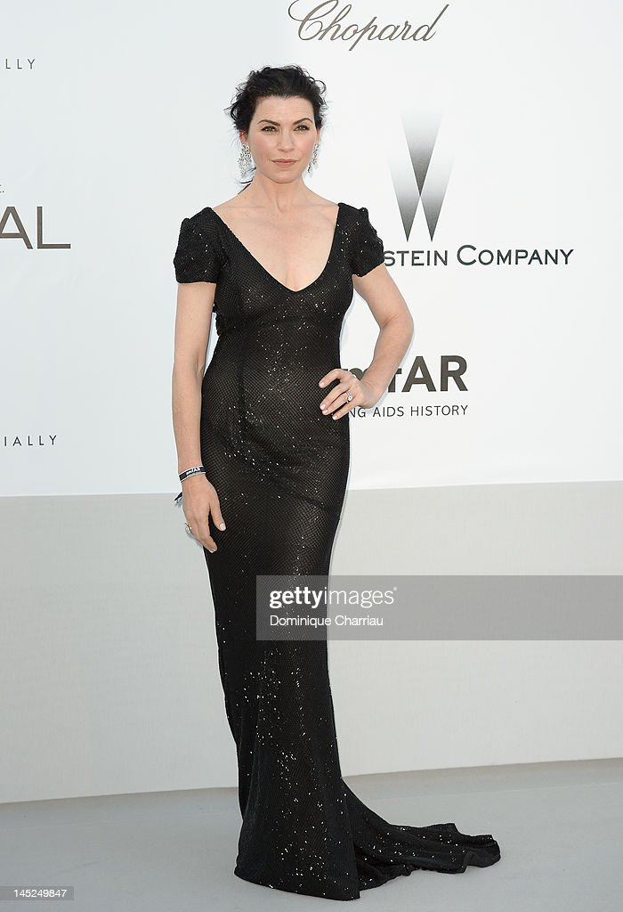 Julianna Margulies arrives at the 2012 amfAR's Cinema Against AIDS during the 65th Annual Cannes Film Festival at Hotel Du Cap on May 24, 2012 in Cap D'Antibes, France.