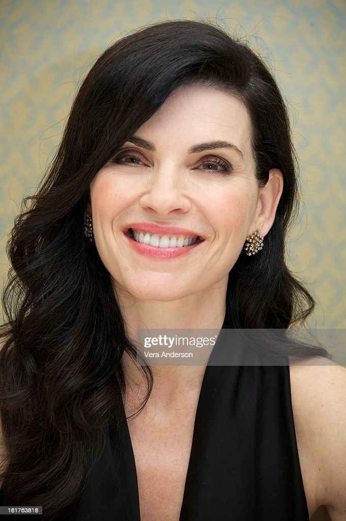 Julianna Margulies at 'The Good Wife' Press Conference at the Four Seasons Hotel on September 23 2013 in Beverly Hills California
