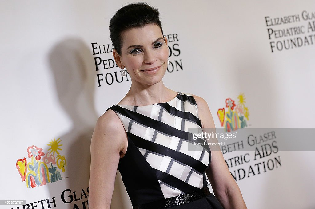 <a gi-track='captionPersonalityLinkClicked' href=/galleries/search?phrase=Julianna+Margulies&family=editorial&specificpeople=208994 ng-click='$event.stopPropagation()'>Julianna Margulies</a> attends Elizabeth Glaser Pediatric AIDS Foundation's 25th Anniversary Gala at Best Buy Theater on December 3, 2013 in New York City.