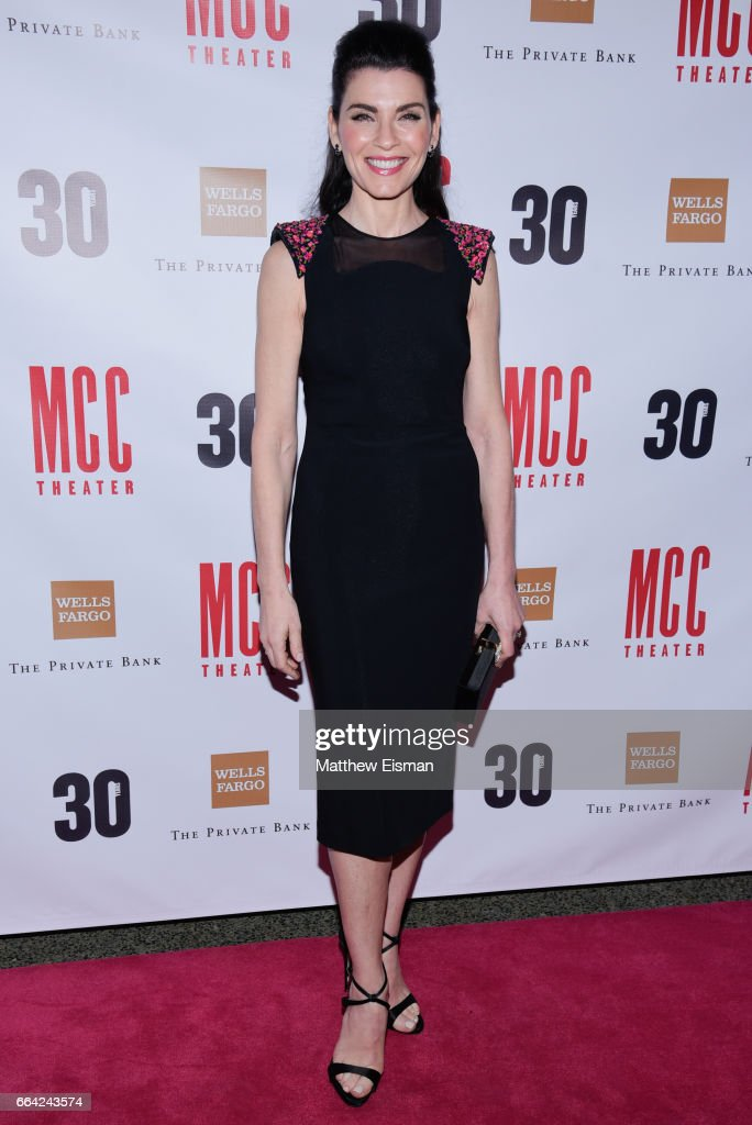 Julianna Margulies attends Miscast 2017 at Hammerstein Ballroom on April 3, 2017 in New York City.