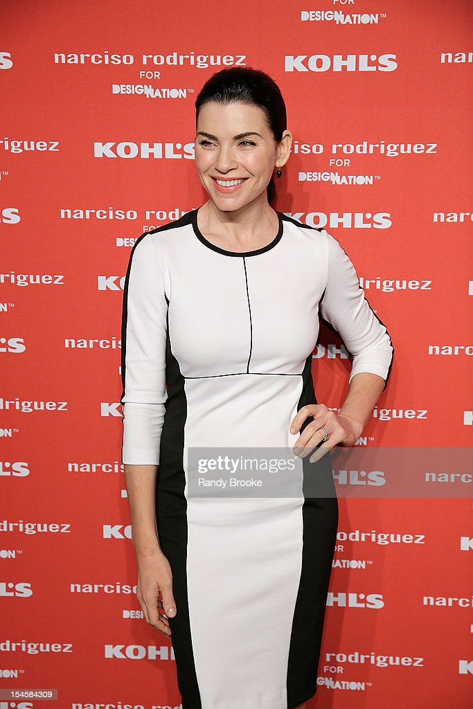 Julianna Margulies attends Narciso Rodriguez For Kohl's DesigNation Collection Launch at IAC Building on October 22, 2012 in New York City.