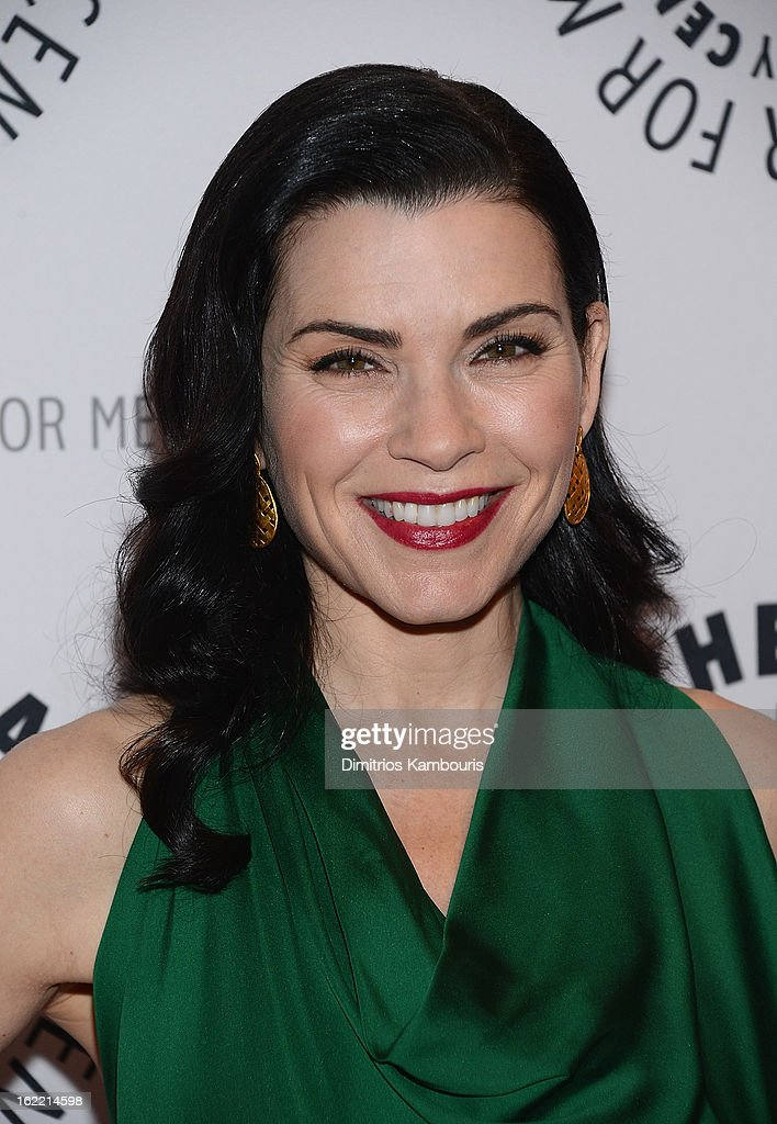 Julianna Margulies attends She's Making Media: Julianna Margulies Panel Discussion at The Paley Center for Media on February 20, 2013 in New York City.