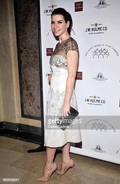 Julianna Margulies attends the 2013 New York Stage And Film Gala at The Plaza Hotel on November 17 2013 in New York City