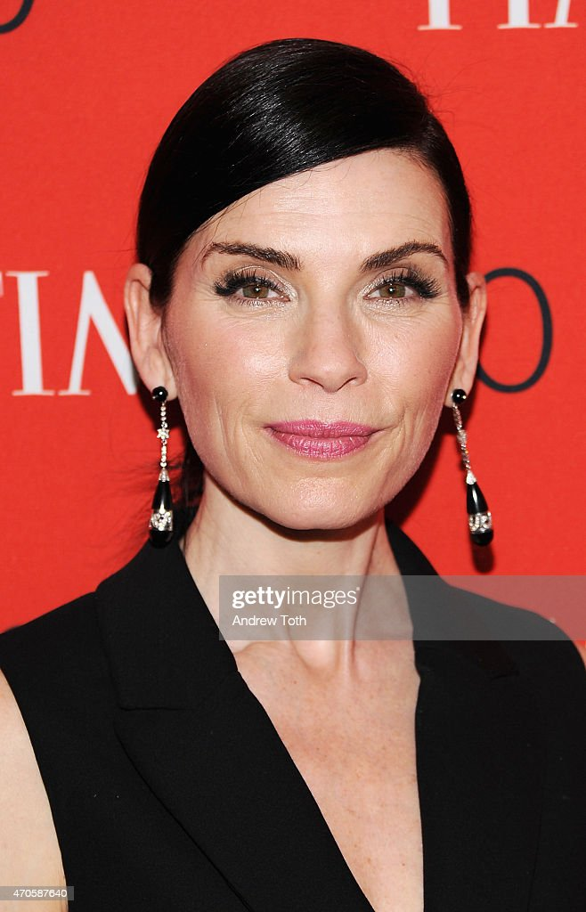 <a gi-track='captionPersonalityLinkClicked' href=/galleries/search?phrase=Julianna+Margulies&family=editorial&specificpeople=208994 ng-click='$event.stopPropagation()'>Julianna Margulies</a> attends the 2015 Time 100 Gala at Frederick P. Rose Hall, Jazz at Lincoln Center on April 21, 2015 in New York City.