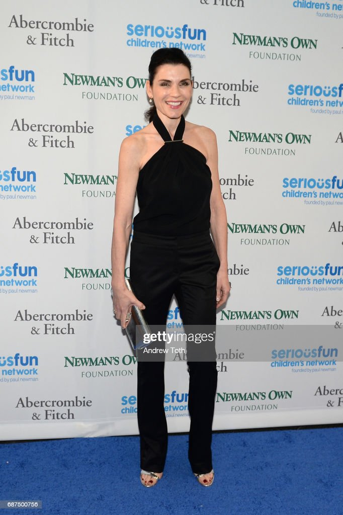 Julianna Margulies attends the 2017 SeriousFun Children's Network gala at Pier Sixty at Chelsea Piers on May 23, 2017 in New York City.