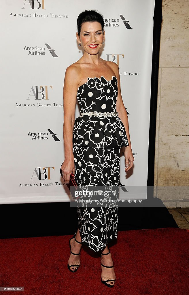 Julianna Margulies attends the American Ballet Theatre 2016 Fall Gala at David H. Koch Theater at Lincoln Center on October 20, 2016 in New York City.